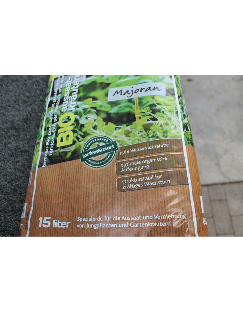 HAWITA Kräutererde (15 l) Bio Aussaat- und Kräutererde