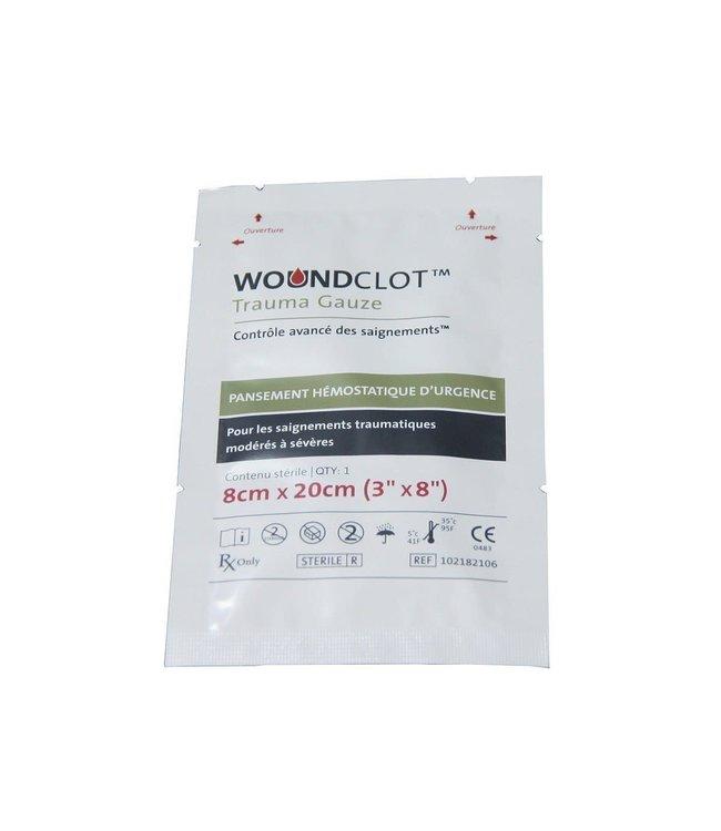 Woundclot Hemostatisch verband 8x20cm