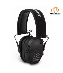 Walkers Casque Anti-bruit électronique Razor Slim Shooter Noir