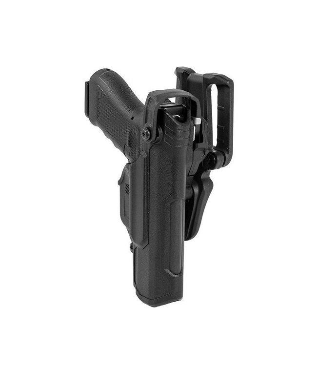 BLACKHAWK! Holster T-SERIES L3D sans lampe Glock 17/19