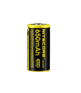 Nitecore Battery CR123A Micro-USB