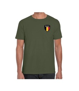 5.11 Tactical T-Shirt Flag Shield Belgïe