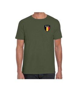 5.11 Tactical T-Shirt Flag Shield Belgique