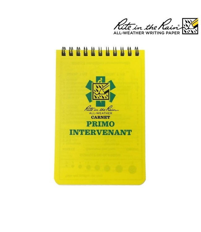 Rite in the Rain First Aid Notebook First Responder