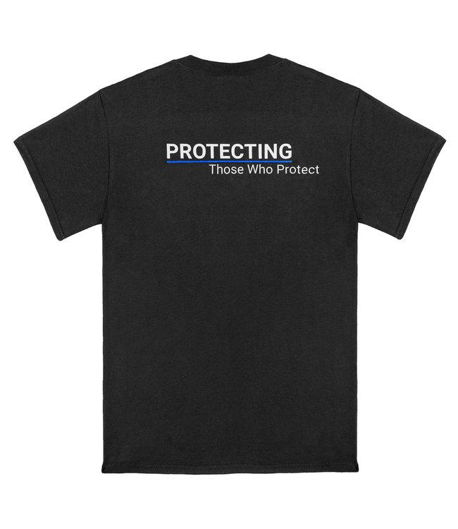ASP T-Shirt Thin Blue Line Belgium Edition