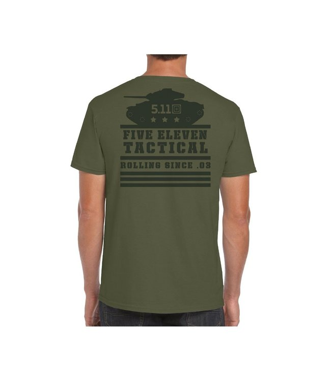 5.11 Tactical T-Shirt Rolling Panzer Military