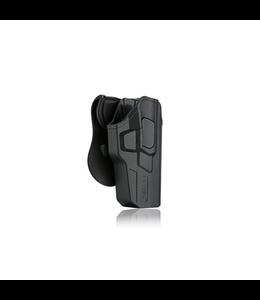 Cytac Holster Paddle R-Defender Glock 17,22,31, Glock 17 Gen 5