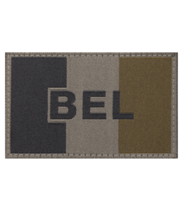 Claw Gear Belgium Flag Patch RAL