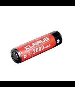 Klarus Batterie rechargeable pour lampe XT2C/XT11/XT11S/ST15/XT12S/XT2CR