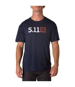 5.11 Tactical T-Shirt Legacy Pride Bleu Navy