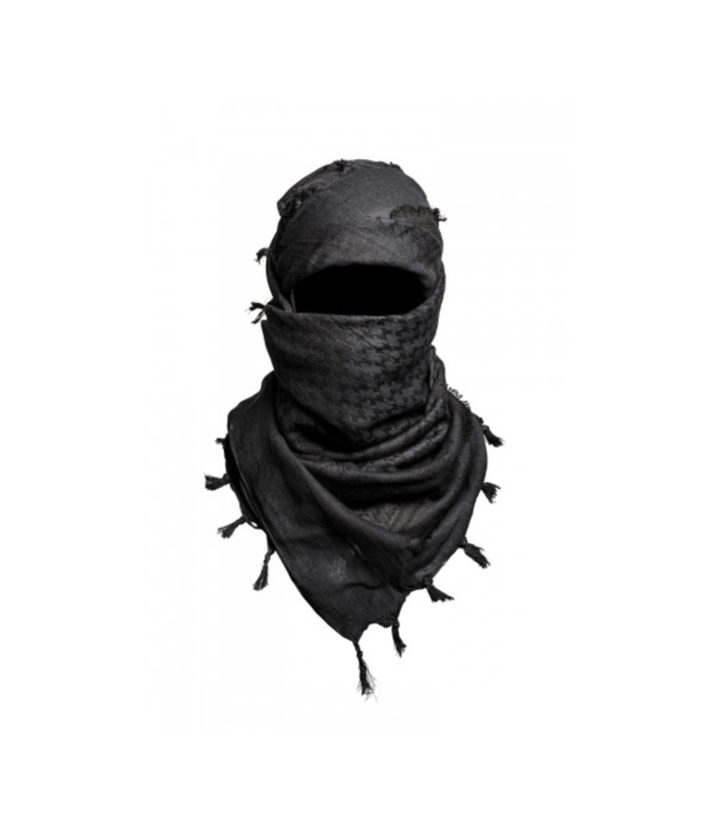 Toe Concept Shemagh Touareg Black