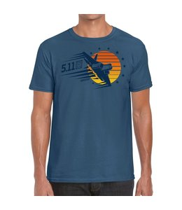 5.11 Tactical Tee-Shirt Sunset Firepower 2020