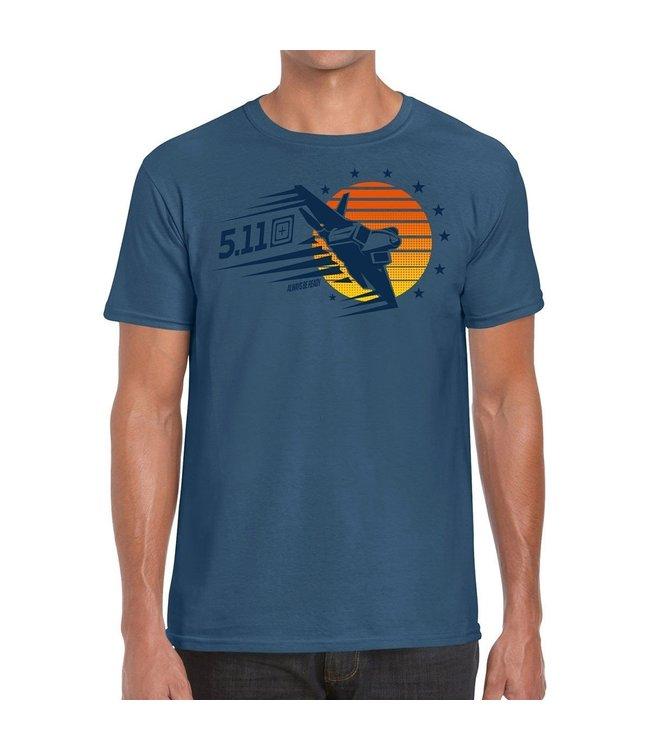 5.11 Tactical Tee-Shirt Sunset Firepower 2020