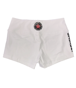 Savage Barbell Booty Short White