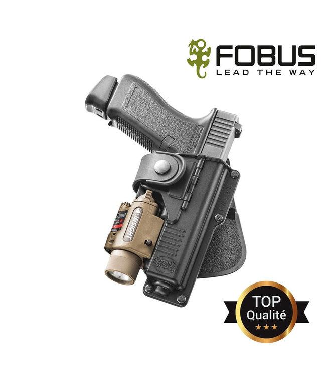 FOBUS Holster RBT17 voor Glock 17/22/31 met lampe