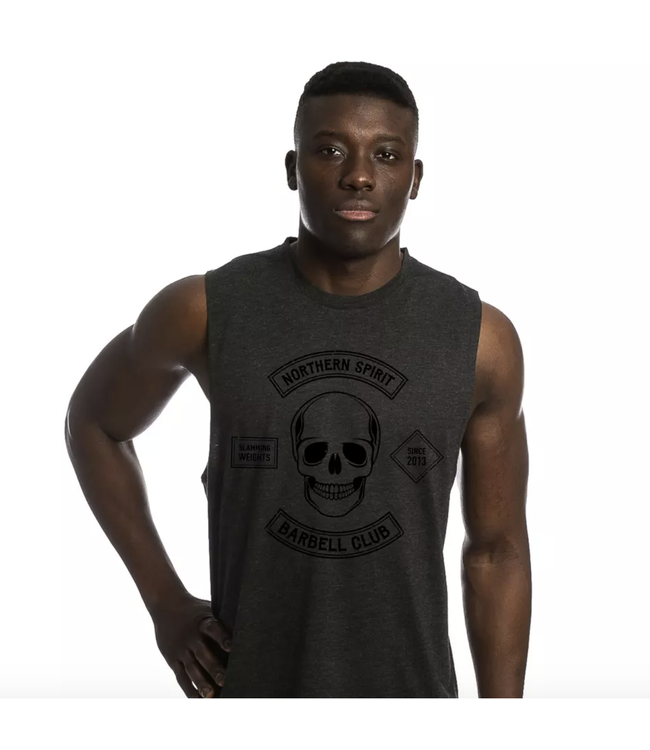 Northern Spirit BLACK MUSCLE TANK BLACK BARBELL CLUB (BEAST)
