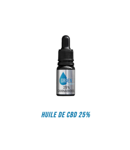 Green Fit Recovery Huile de CBD 25%