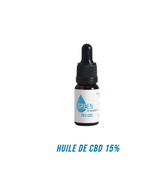 Green Fit Recovery CBD Oil 15%