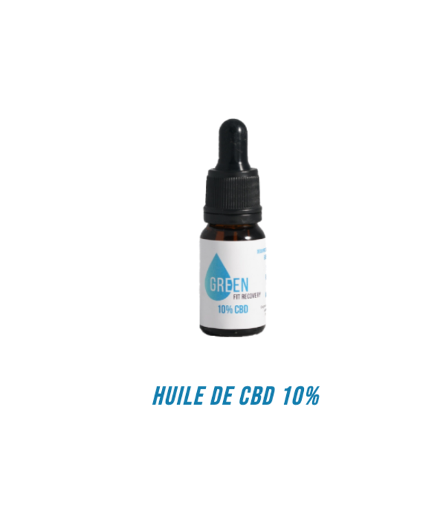 Green Fit Recovery CBD Olie 10%