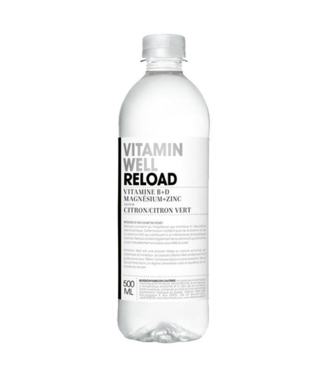 Vitamin Well 12 x Vitamin Well Reload 500ml