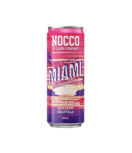 Nocco 12 x Nocco Miami Strawberry 330ml