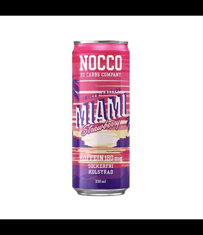 Nocco 12 x Nocco Miami Strawberry 330ml