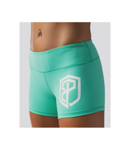 Born Primitive Renewed Vigor Booty Shorts Teal