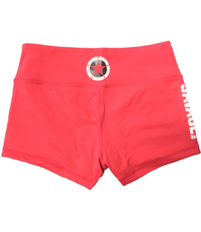 Savage Barbell Booty Short Sea Red