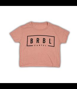 The Barbell Cartel BRBL CROP TEE - DESERT PINK