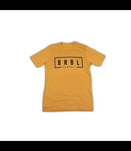 The Barbell Cartel BRBL TEE SHIRT Antique GOLD