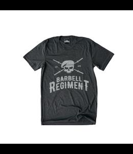 Barbell Regiment Barbell Origins Tee Charcoal - Barbell Regiment