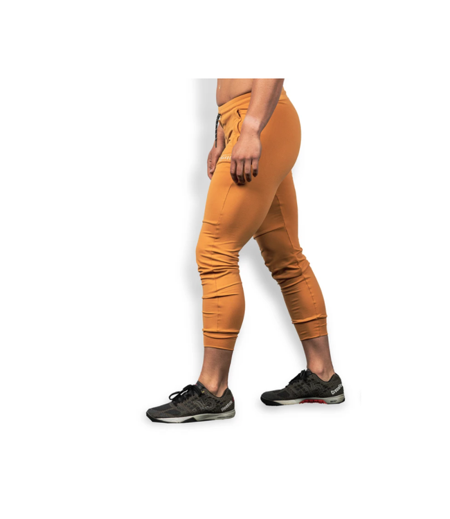 The Barbell Cartel LADIES REFLEX JOGGERS ( HARVEST GOLD )