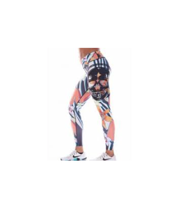 Northern Spirit Legging Tights Exotic Flower Skull - Northern Spirit