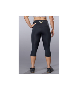 VullSport Legging Essential Fold Over Hug Crop - VullSports