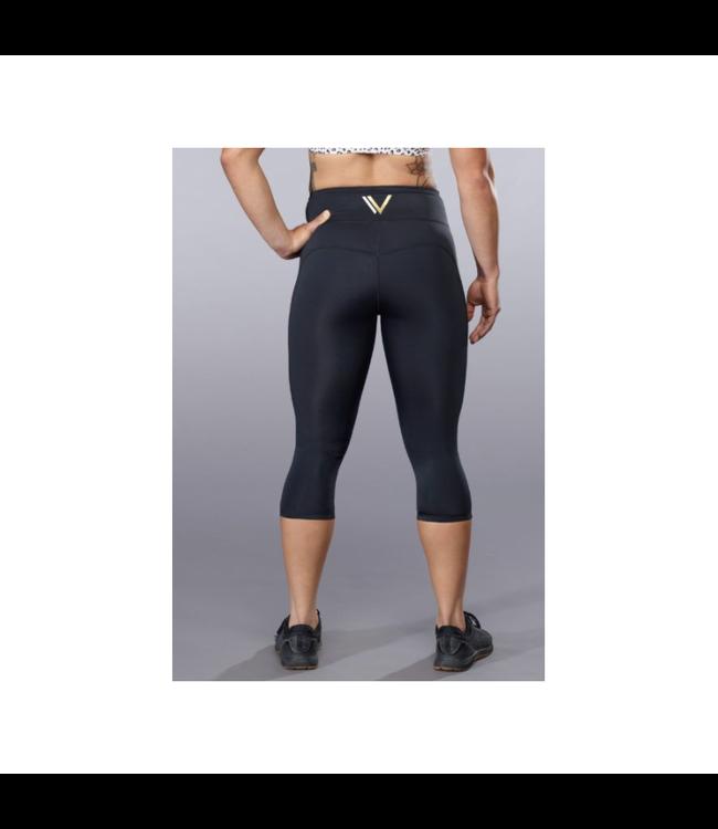 VullSport Legging Essential Fold Over Hug Crop - VullSports