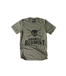 Barbell Regiment Barbell Origins Tee Olive