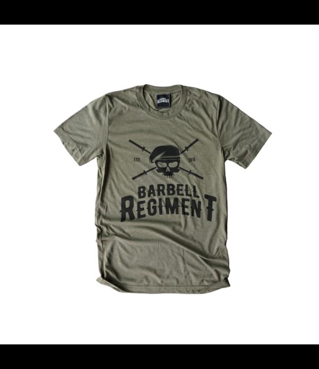 Barbell Regiment Barbell Origins Tee Olive