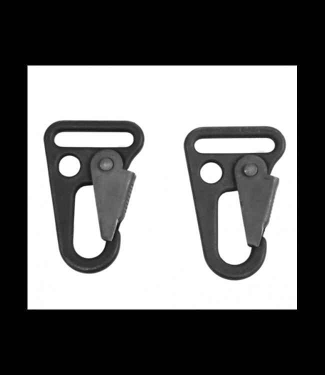 BLACKHAWK! Metal 1'' Heavy Duty Snap Hooks (Set of 2)