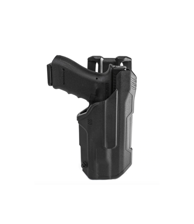 BLACKHAWK! T-SERIES L2D LIGHT BEARING DUTY HOLSTER Glock 17/19/45