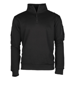 Mil-Tec Tactical Sweat-Shirt with Zipper