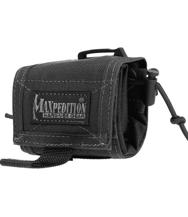 Maxpedition Rollypoly MM Folding Dump Pouch (Black)