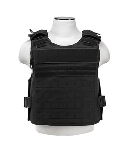 NcSTAR Plate Carrier with External Pockets (Black)