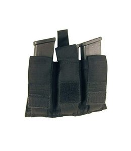 BLACKHAWK! Belt Mounted Triple Mag Pouch (Black)
