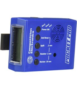 Competition Electronics Pocket Pro II Timer (Blue)