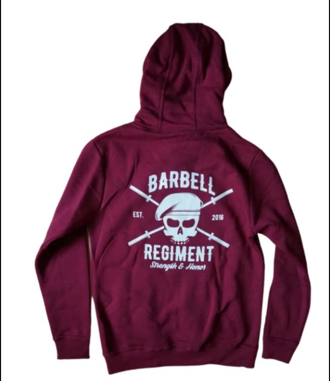 Barbell Regiment Heavy Duty Hoodie - Burgundy
