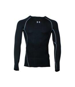 Under Armour HeatGear® Armour Long Sleeve Compression Shirt (Black)