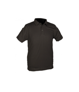 Mil-Tec Quick-Dry Tactical Polo  (Black)