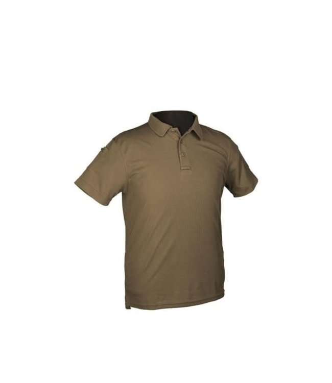Mil-Tec Quick-Dry Tactical Polo  (Olive)