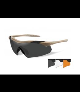 Wiley X Vapor tan screens smoky/colourless/orange