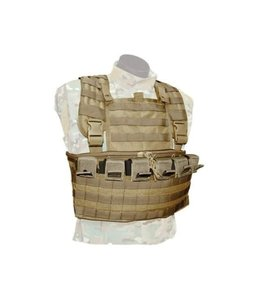 BDS Tactical Simple Stacker Chest Rig (Coyote Brown)